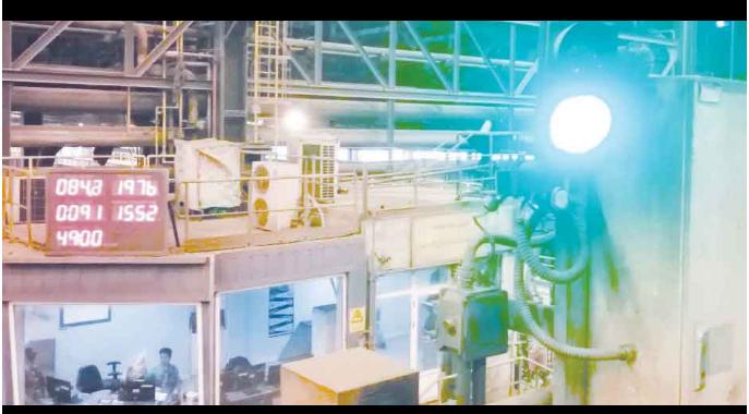 بومیسازی دستگاه اندازهگیری دمای مذاب در مجتمع فولاد سبا