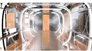 با ابتکارطراحی تونل ضدعفونیکنندهدر حال طراحی