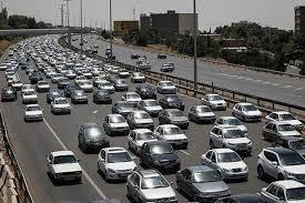تردد جاده ایی افزایش یافت