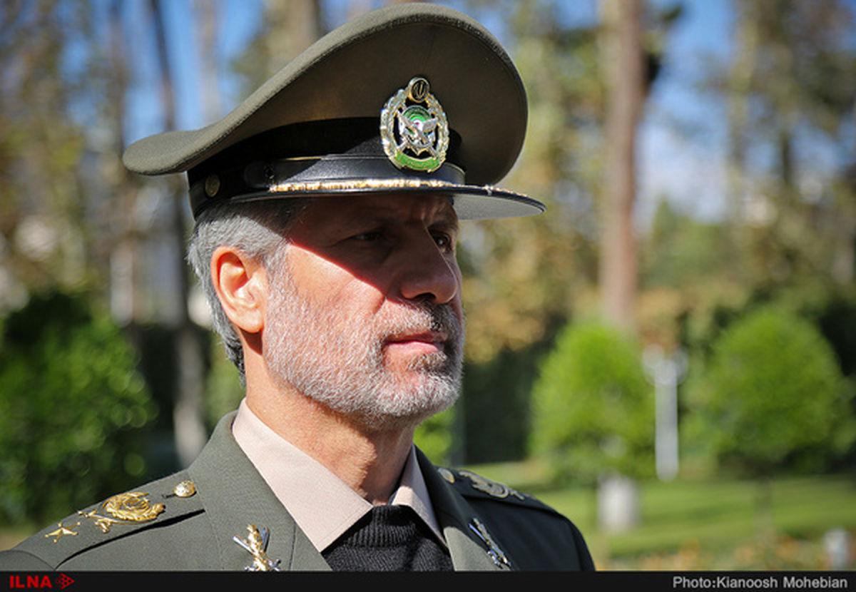 موضع جدید وزیر دفاع در قبال ترور شهید فخریزاده