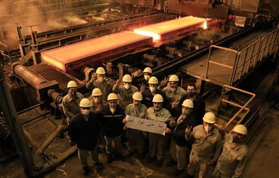 تولید تختال با ضخامت ۳۰۰ میلیمتر در فولاد مبارکه