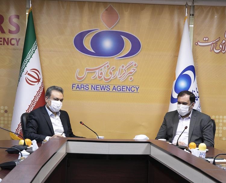 بازدید مدیرعامل بانک ملت از خبرگزاری فارس