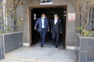 بازدید مدیرعامل بانک ملت از کارخانه نفت پاسارگاد بندرعباس