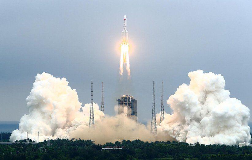 موشکی در راه زمین با هدفی نامعلوم