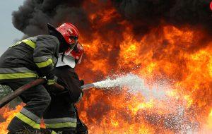 آتش سوزی در بانک ملی / ۳ زن و ۲ مرد سوختند