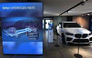 (آغاز تست های خودروی هیدروژنی ب ام و در اروپا