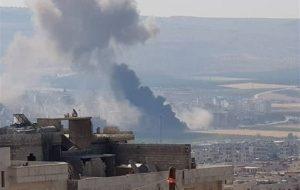 (حمله راکتی به عفرین در شمال حلب ۱۸ کشته و ۳۳ زخمی بهجای گذاشت