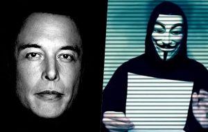 """هکرها ایلان ماسک را تهدید کردند"""" منتظر ما باش"""