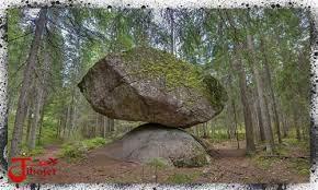 (تصویر عجیب ترین صخره دنیا؛شاید کار موجودات بیگانه باشد