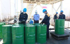 آیین پروژه افزایش ظرفیت تولید روغن MES_T و مراسم تقدیر از همکاران ایثارگر هشت سال دفاع مقدس شرکت نفت ایرانول